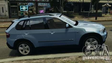 BMW X5 xDrive30i для GTA 4 вид слева