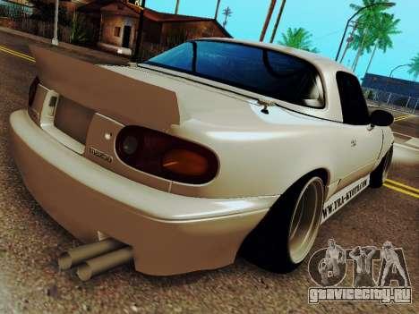 Mazda MX-5 Miata Rocket Bunny для GTA San Andreas вид слева