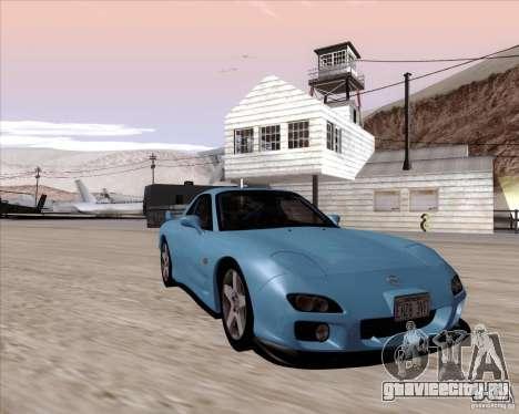 Mazda RX7 2002 FD3S SPIRIT-R (Type RS) для GTA San Andreas вид сзади