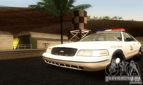 Ford Crown Victoria Utah Police для GTA San Andreas