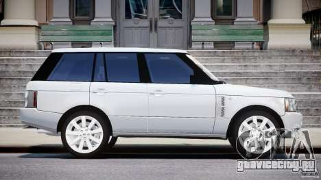Range Rover Supercharged 2009 v2.0 для GTA 4 вид изнутри