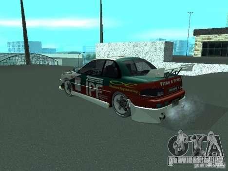 Subaru Impreza для GTA San Andreas двигатель