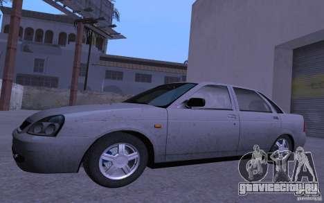 ВАЗ 2170 Priora Pnevmo для GTA San Andreas вид слева