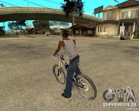 Diamondback strike Beta для GTA San Andreas вид слева