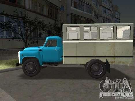 ГАЗ 52 Вахта для GTA San Andreas вид слева