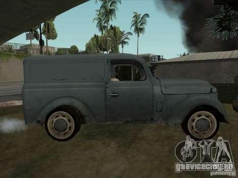 Автомобиль Второй Мировой Войны для GTA San Andreas вид справа