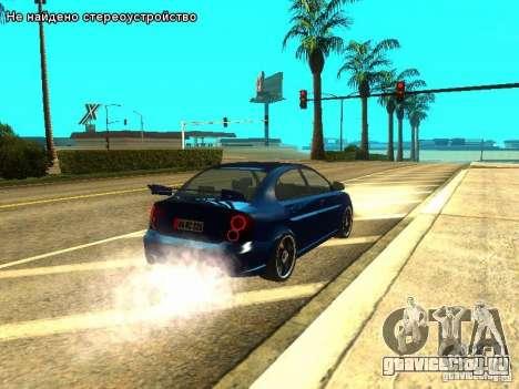 Hyundai Accent Era для GTA San Andreas вид справа