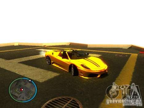 Ferrari F430 Scuderia M16 2008 для GTA San Andreas колёса