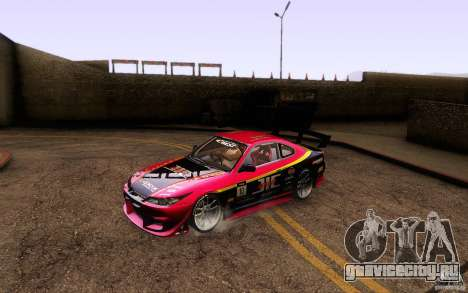 Nissan Silvia S15 Drift Style для GTA San Andreas вид снизу