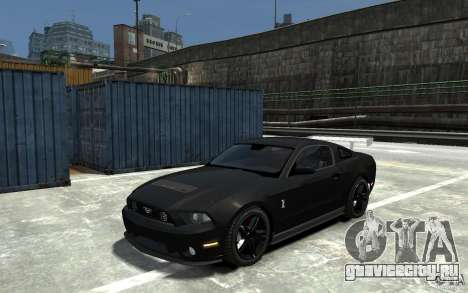 Ford Shelby GT500 v.1.0 для GTA 4