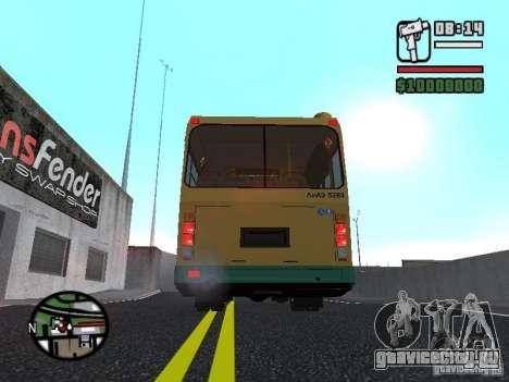 ЛиАЗ 5283.01 для GTA San Andreas вид сбоку