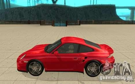 Porsche 911 (997) Turbo v3.0 для GTA San Andreas вид слева