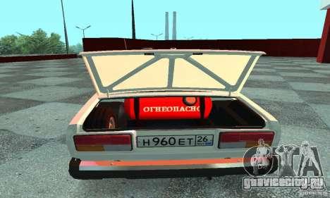 Ваз 2107 v.3 для GTA San Andreas вид справа