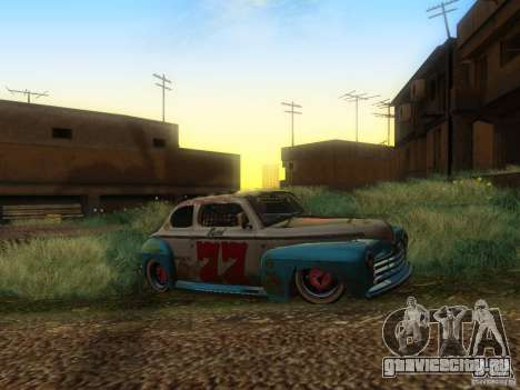 Ford Coupe 1946 Mild Custom для GTA San Andreas вид справа