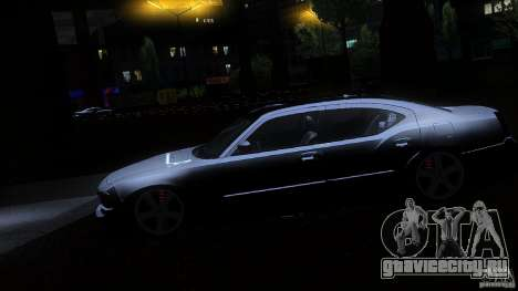 Dodge Charger RT 2010 для GTA San Andreas вид сбоку