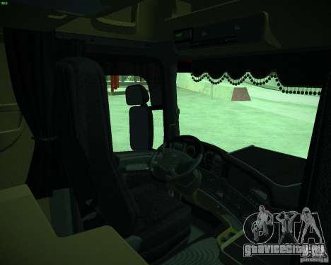 Scania R440 для GTA San Andreas вид сзади слева