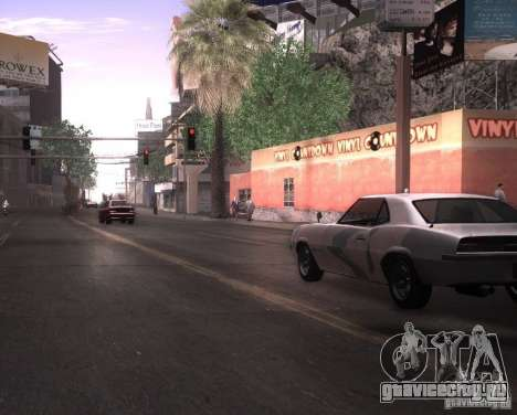 ENBSeries для Ultra Pack Vegetetions для GTA San Andreas третий скриншот