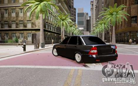 Lada Priora Dag Style для GTA 4 вид слева
