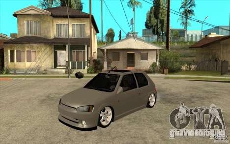 Peugeot 106 Reptile для GTA San Andreas