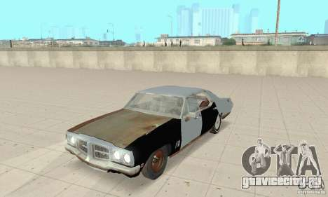 Pontiac LeMans 1970 Scrap Yard Edition для GTA San Andreas