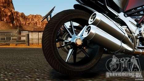Ducati Diavel Carbon 2011 для GTA 4 вид изнутри