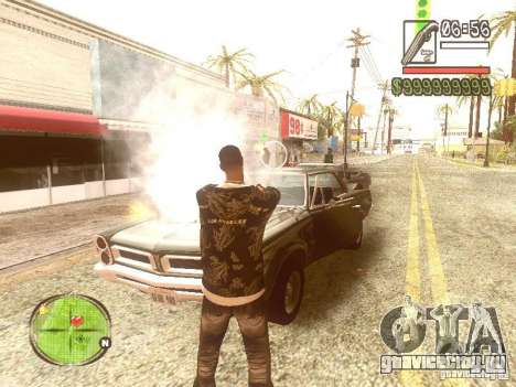 Wild Wild West для GTA San Andreas пятый скриншот