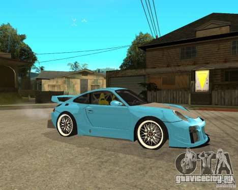 Porsche 911 Turbo Grip Tuning для GTA San Andreas вид справа