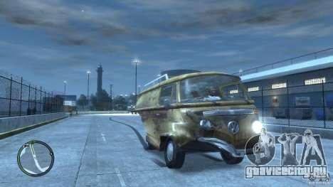 VW Transporter T2 для GTA 4 вид сбоку