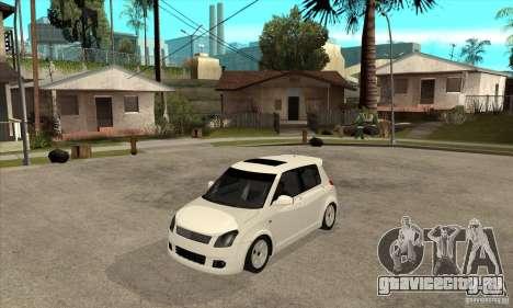 Suzuki Swift 4x4 CebeL Modifiye для GTA San Andreas