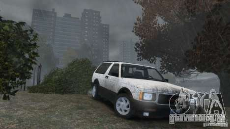 GMC Typhoon 1993 v1.0 для GTA 4 вид сверху