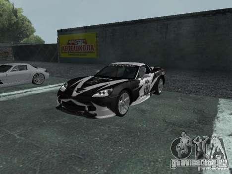 Chevrolet Corvette C6 для GTA San Andreas колёса