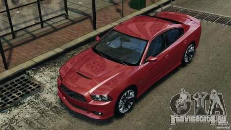 Dodge Charger SRT8 2012 v2.0 для GTA 4 колёса