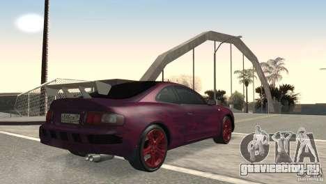 Toyota Celica для GTA San Andreas вид справа