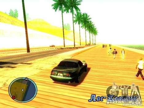 Mazda Miata 1994 для GTA San Andreas вид справа
