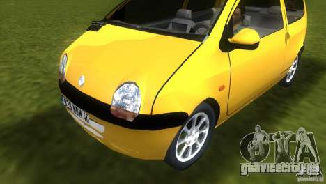 Renault Twingo для GTA Vice City вид сзади слева