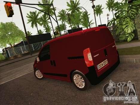 Peugeot Bipper для GTA San Andreas вид слева