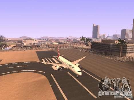 Boeing 787 Dreamliner Qantas для GTA San Andreas вид слева