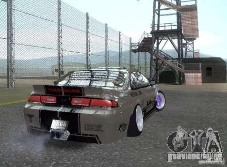 Nissan Silvia S14 Volklinger для GTA San Andreas вид слева