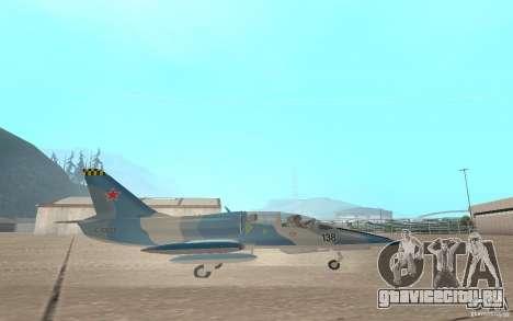 L-39 Albatross для GTA San Andreas вид сзади