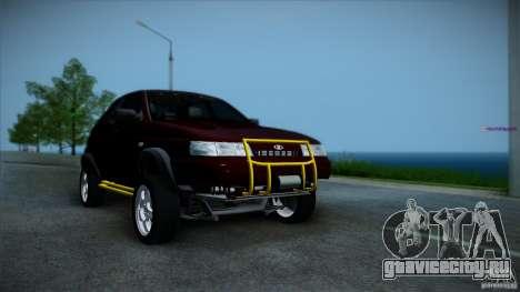 ВАЗ 4х4 Тарзан для GTA San Andreas вид сзади слева