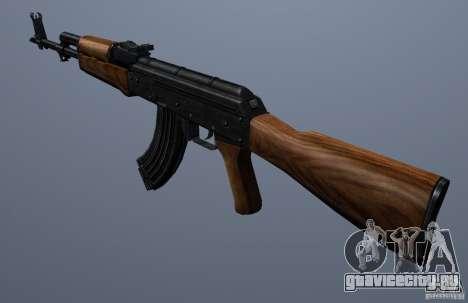 AKM - the more accurate version для GTA San Andreas второй скриншот