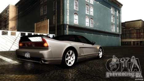 Honda NSX-R 2005 для GTA San Andreas салон