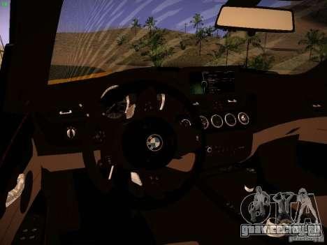 BMW Z4 sDrive28i 2012 для GTA San Andreas вид снизу