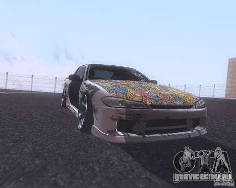 Nissan Silvia S15 Street для GTA San Andreas вид слева