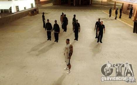Sombras mais fortes em pedestres для GTA San Andreas четвёртый скриншот