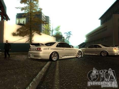 Nissan Skyline Nismo 400R для GTA San Andreas вид справа