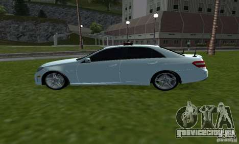 Mercedes-Benz E63 ДПС для GTA San Andreas вид слева