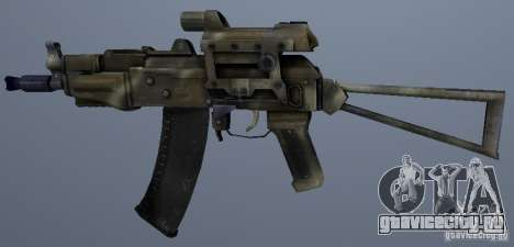 АКС-74У для GTA San Andreas второй скриншот