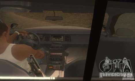 Ford Crown Victoria Louisiana Police для GTA San Andreas вид сзади слева