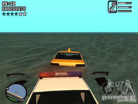 HUD by Neo40131 для GTA San Andreas третий скриншот
